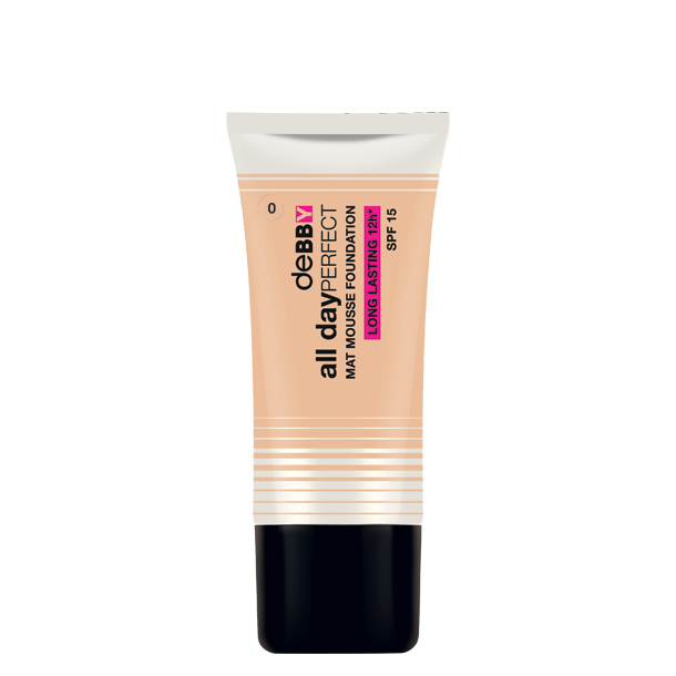 <p><strong>all day</strong>PERFECT <strong>MAT MOUSSE FOUNDATION</strong></p>