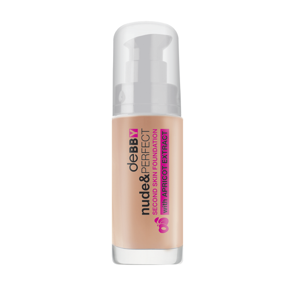 <p><strong>nude&</strong>PERFECT <strong>SECOND SKIN FOUNDATION</strong></p>